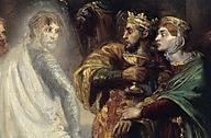 The signs of guilt for immoral act in macbeth